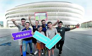 Personas de 61 países quieren ser voluntarios de la Euro en Bilbao