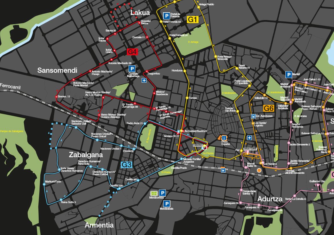 Las paradas 'antiacoso' se extenderán a todas las líneas del Gautxori de Vitoria desde el 4 de agosto