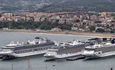 La contaminación de los cruceros que atracan en Getxo enfrenta al equipo de gobierno y la oposición