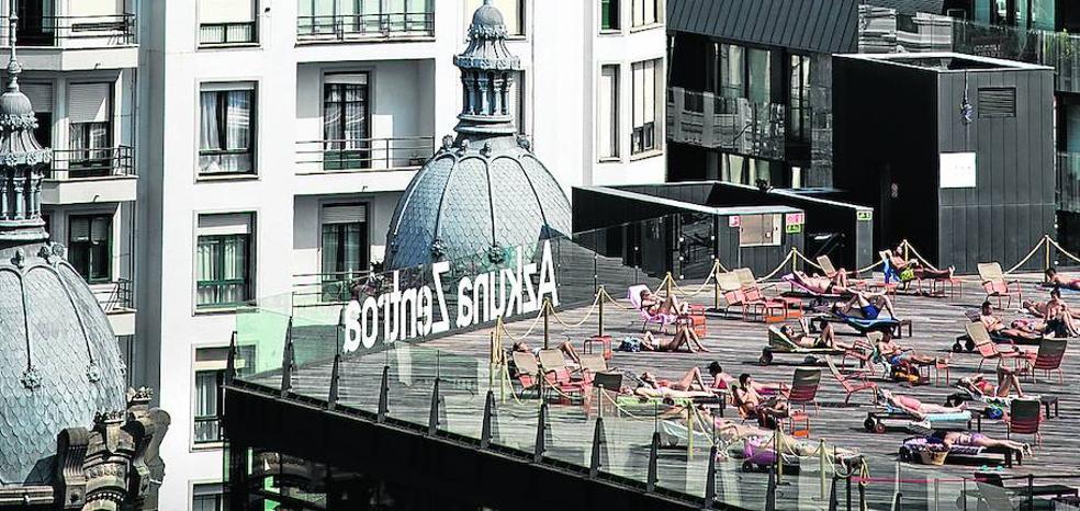 Bilbao, un gran solárium