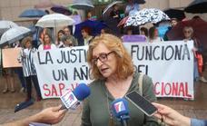 Asociaciones de mujeres se concentran en Barakaldo contra «la justicia patriarcal»