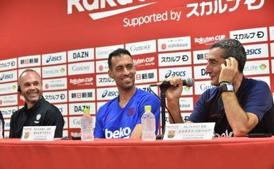 Valverde no descarta el fichaje de un lateral izquierdo