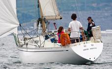 Primeros líderes de la Copa Gitana de barcos clásicos en el Abra