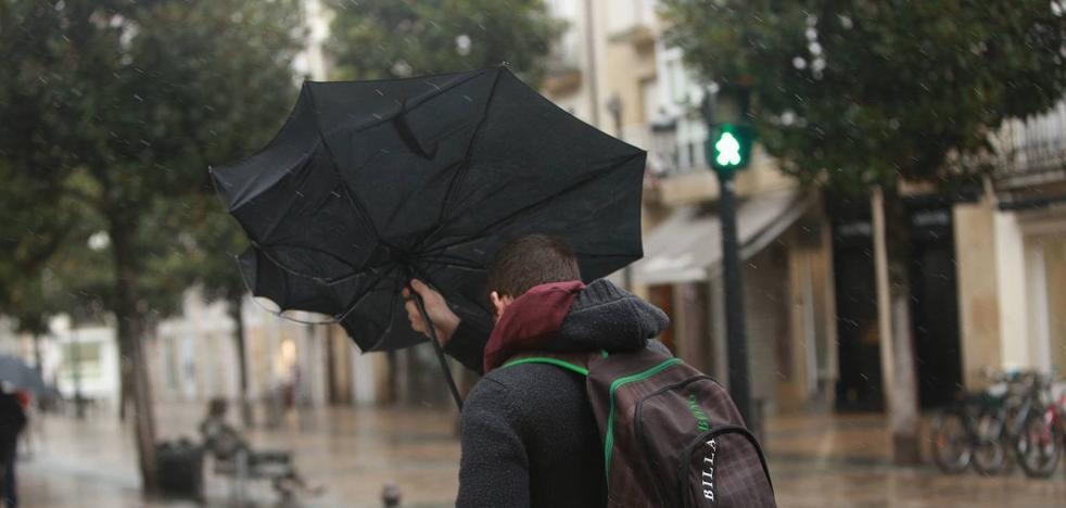 La drástica caída de las temperaturas deja en Vitoria 15,8 grados de máxima