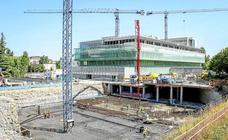 Las obras del edificio de quirófanos y urgencias del HUA entran en la recta final