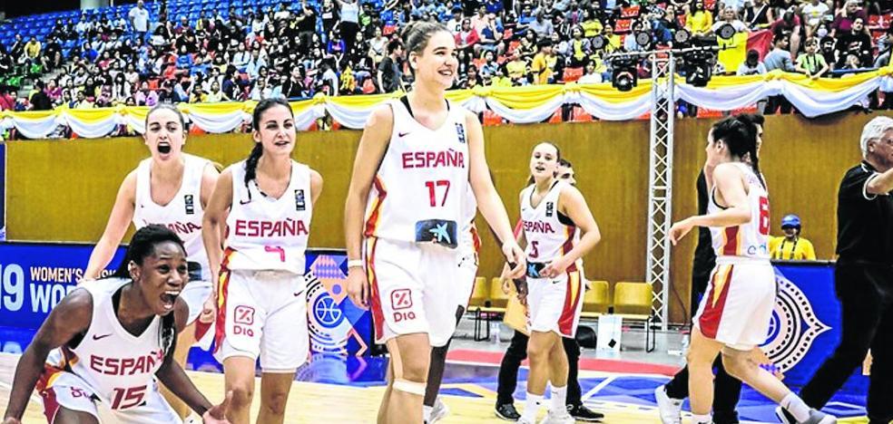 Segunda medalla internacional para el baloncesto femenino alavés
