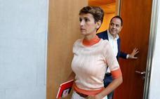 María Chivite, candidata oficial a la investidura de este jueves