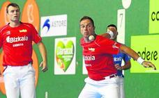 Olaizola II y Aretxabaleta se apuntan a la final del Torneo Bizkaia por equipos