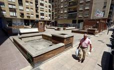 Urbanismo estudia un cambio en el PGOU para asumir el mantenimiento de la plaza Alfonso VI