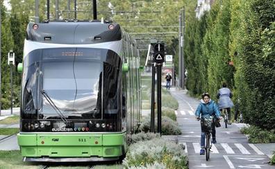 La ampliación del tranvía a Salburua, a punto de cerrar su financiación