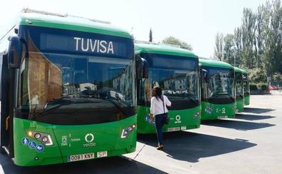 Ocho aseos repartidos por Vitoria para los conductores de Tuvisa