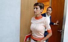La socialista Chivite será presidenta de Navarra tras la decisión de EH Bildu de abstenerse