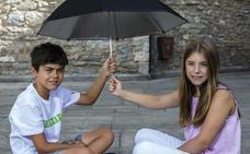 Gonzalo y Paula, listos para convertirse en Celedón y Edurne txiki