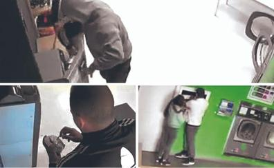 Una banda acumula en tres meses más de cuarenta robos en lavanderías