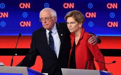 Los debates muestran la división del Partido Demócrata
