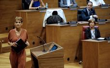 La sesión de investidura de la socialista Chivite escenifica la extrema polarización en Navarra