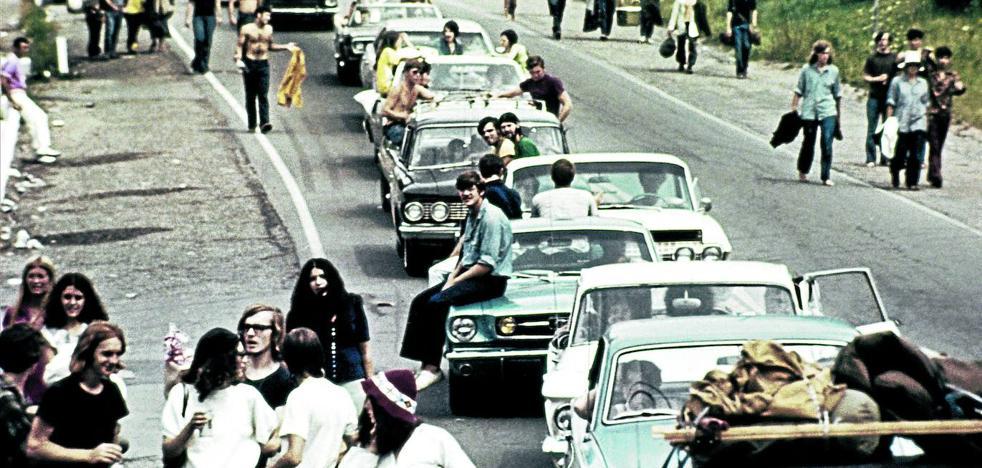 Woodstock en el salón de casa