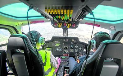 A bordo del 'Pegasus': el tráfico, a ojo de halcón