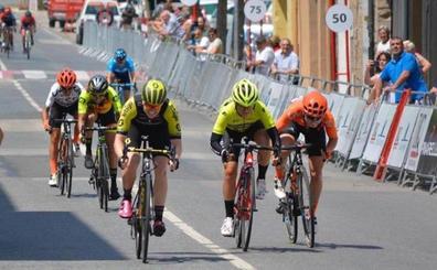 El Sopela Women's Team roza la victoria en Navarra