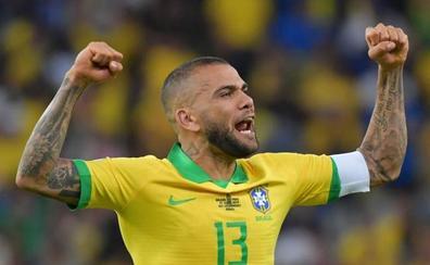 Dani Alves ficha por el Sao Paulo