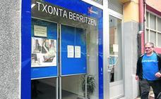 La oficina de Txonta tramitará las ayudas de rehabilitación hasta diciembre