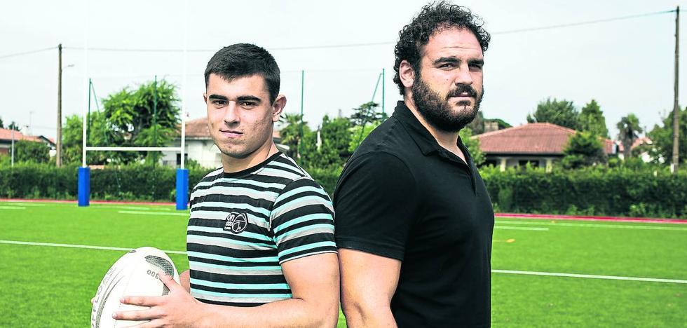 Getxo, la cantera del rugby vascofrancés