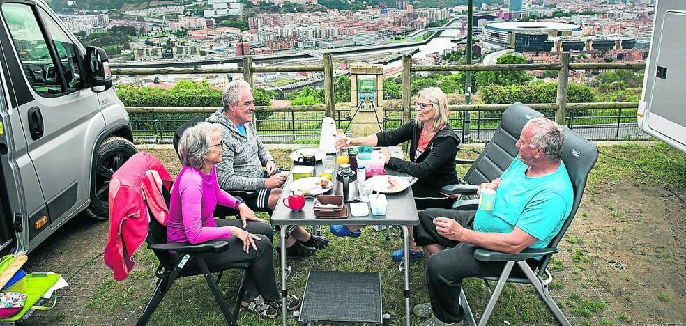 Los turistas con las mejores vistas de Bilbao