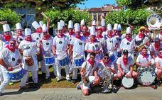 Ustekabe, embajadores de Eibar en las fiestas del verano