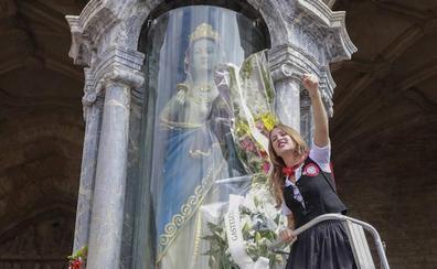 Vitoria honra a su patrona en el día grande de las fiestas