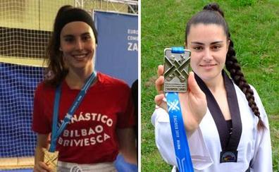 Jone Magdaleno y Zuriñe Padilla reinan en el tatami europeo