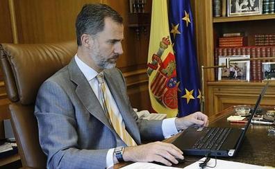 El Rey llama a las fuerzas políticas a «encontrar una solución» para evitar la repetición electoral