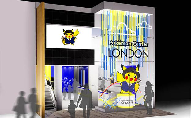 Escaparate del Pokémon Center London
