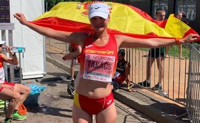 La atleta internacional Julia Takacs denuncia haber sido acosada en Málaga mientras entrenaba
