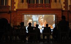 Comienza el cine al aire libre en Unzaga