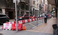 Las obras de la nueva zona de coexistencia en Fermín Calbetón han comenzado