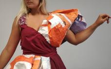 De un vestido que 'sacó' de la basura a modelos exclusivos: la diseñadora de Lekeitio que rompe moldes