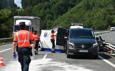 Un conductor que iba en sentido contrario fallece en un choque frontal en Gipuzkoa