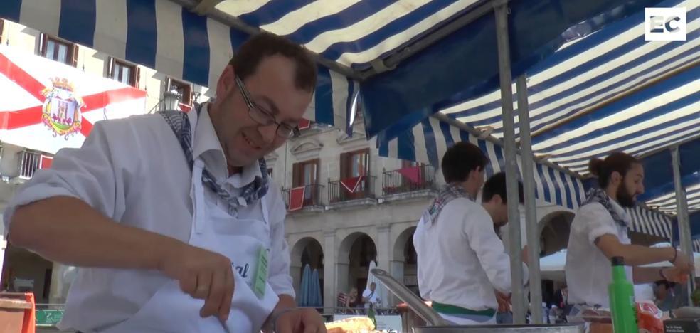 La Blanca se cocina a fuego lento en el concurso gastronómico