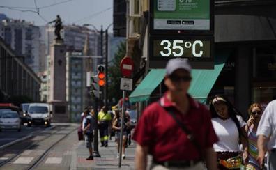 Las temperaturas bajan en Bizkaia tras la noche más calurosa de los últimos 19 años
