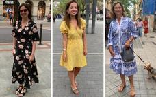 Estas vizcaínas saben lucir sus vestidos de verano con estilazo