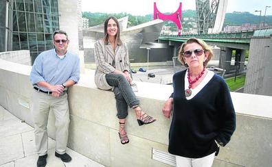 Los visitantes que más pintan en el Guggenheim