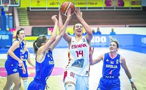 Raquel Carrera, del Araski, aporta 12 puntos en el triunfo de la sub'20 en el Europeo