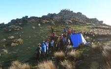 Encuentran al montañero guipuzcoano que desapareció en el Monte Adarra