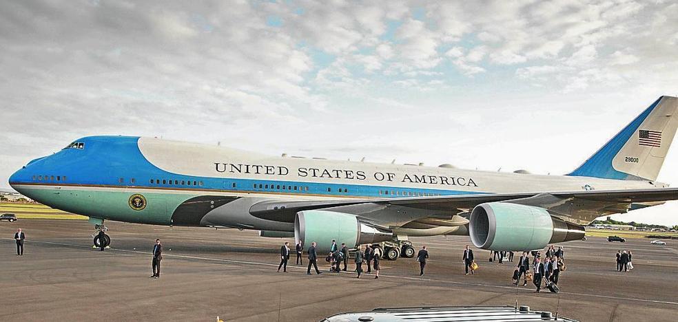 Vitoria, posible sede del Air Force One de Trump durante el G-7 de Biarritz