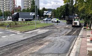 Avenida del Zadorra, Los Huetos, Gorbea y otras once calles de Vitoria estrenarán firme en agosto