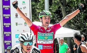 Lazkano se impone en Palencia y correrá el Tour del Porvenir