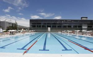 Normalidad en las piscinas olímpicas de Mendizorroza tras seis horas de cierre por una avería