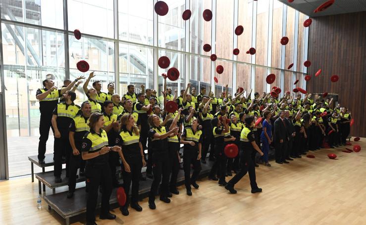 Bilbao ya tiene 104 nuevos policías municipales