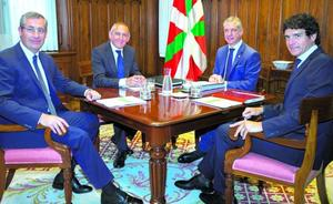 Bizkaia reparte 642 millones de su recaudación a Gipuzkoa y Alava y aun así ingresa un 2,4% más