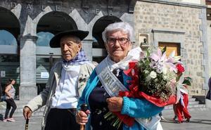 Txope y Juanita, grandes de Amurrio